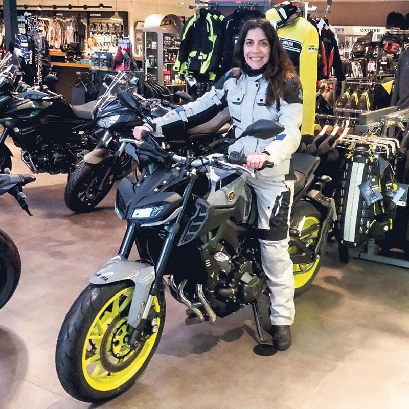Yamaha MT-9 ex-demo bike
