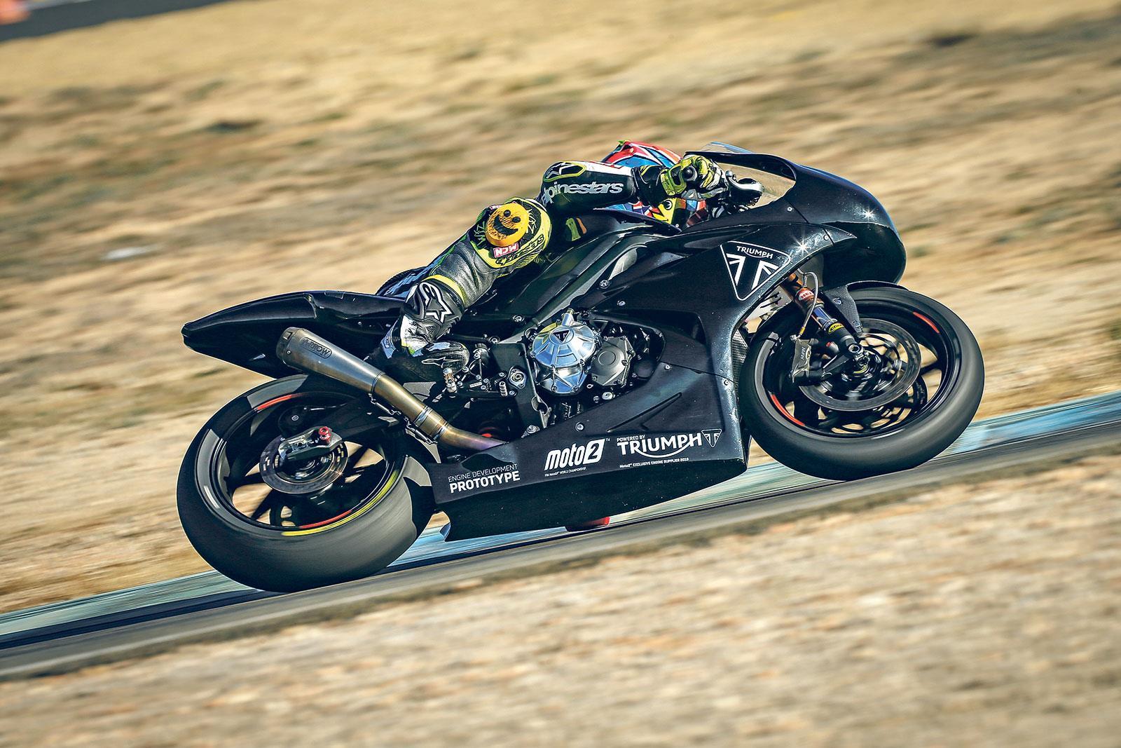 Triumph 765 Moto2 bike