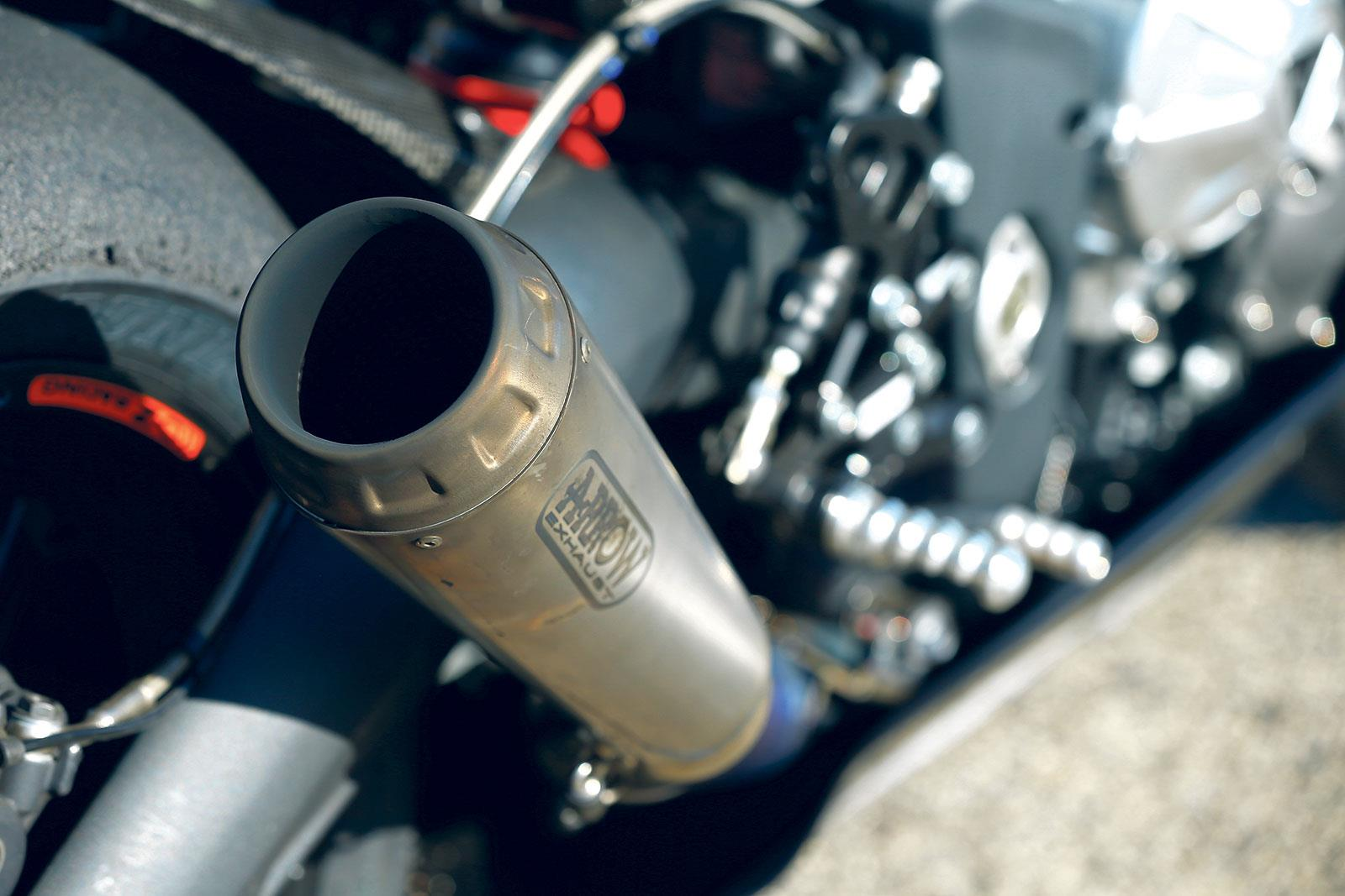 Triumph 765 Moto2 Arrow exhaust