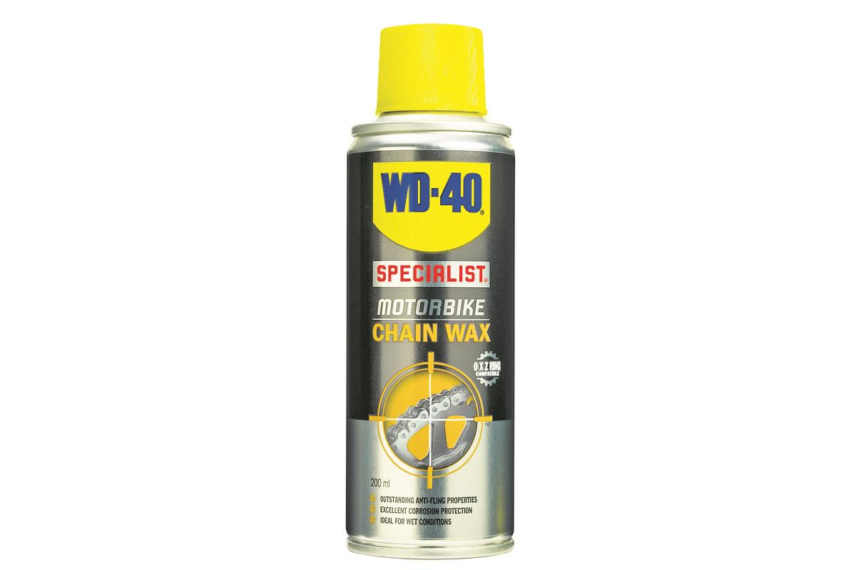 Product review: WD-40 Specialist Motorbike Chain Wax