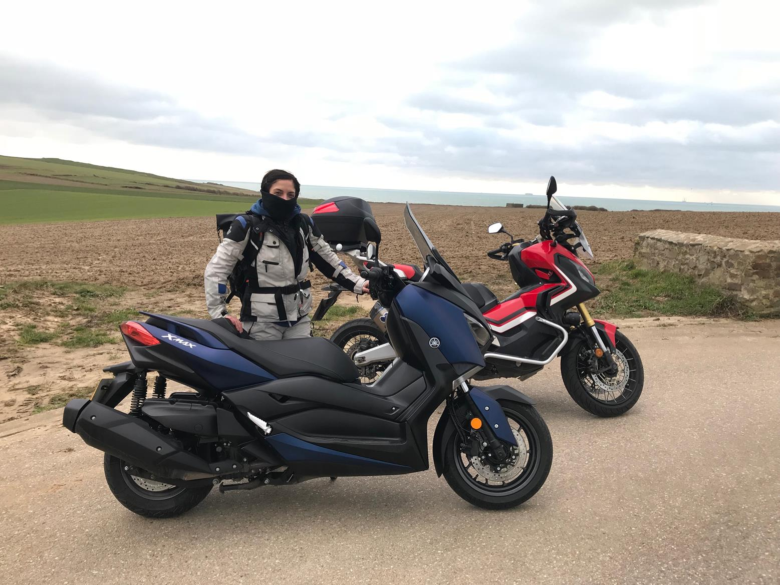 Mcn Fleet Can You Tour Comfortably On The Xmax 400