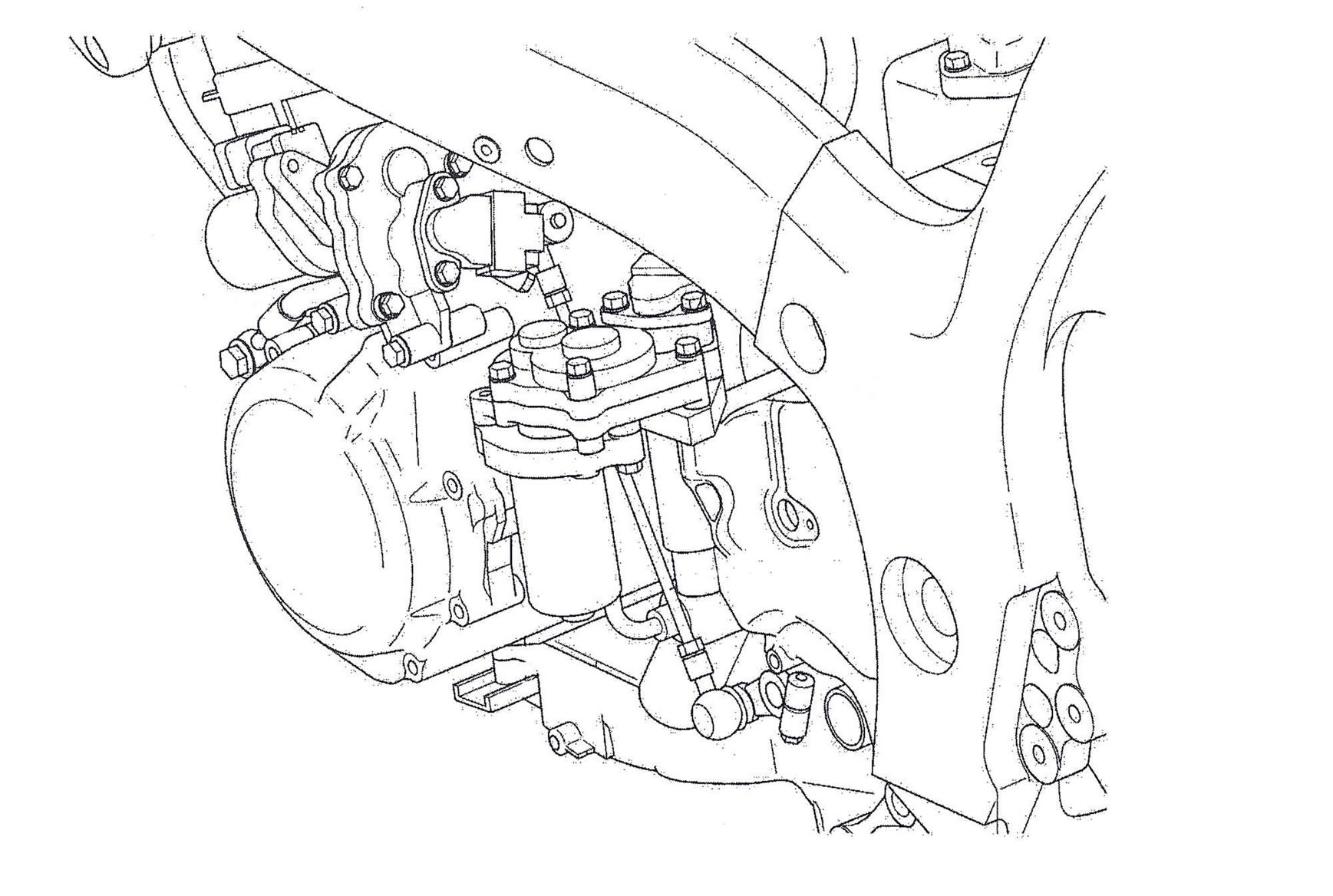 Hayabusa Suspension Diagram Completed Wiring Diagrams Goldwing Engine Suzuki Quietly Working On A New Busa Mcn Honda