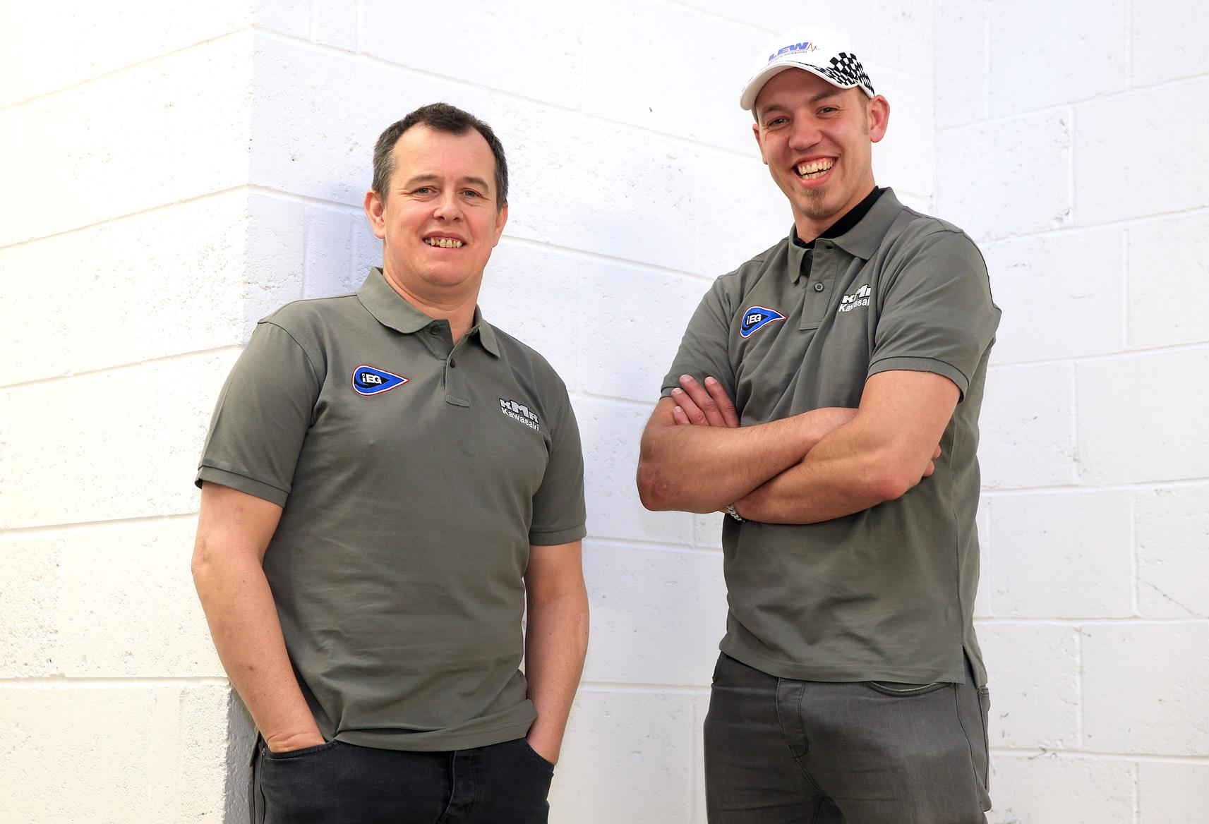 John McGuinness joins Farquhar's KMR team for Lightweight TT