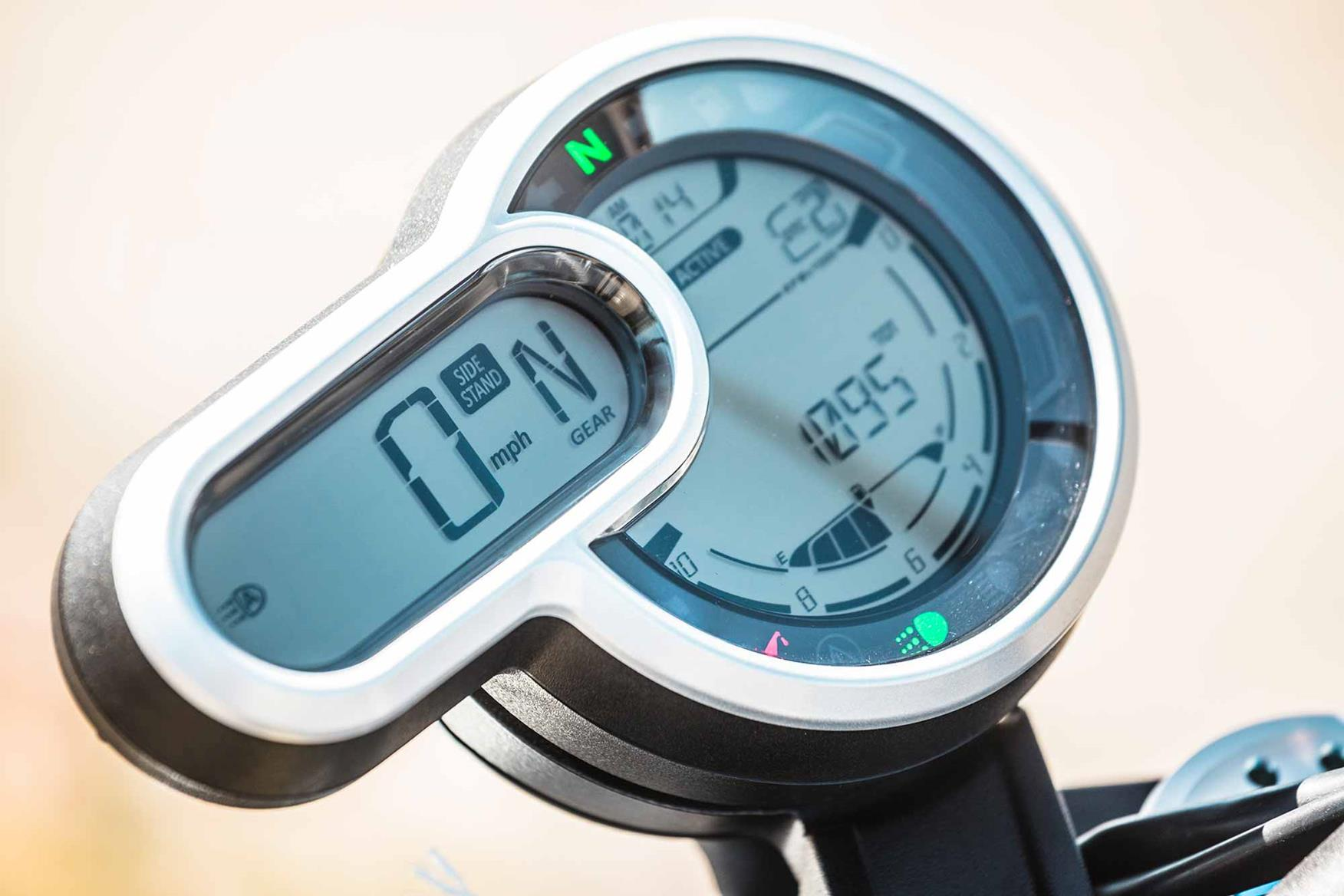 Ducati Scrambler 1100 clocks