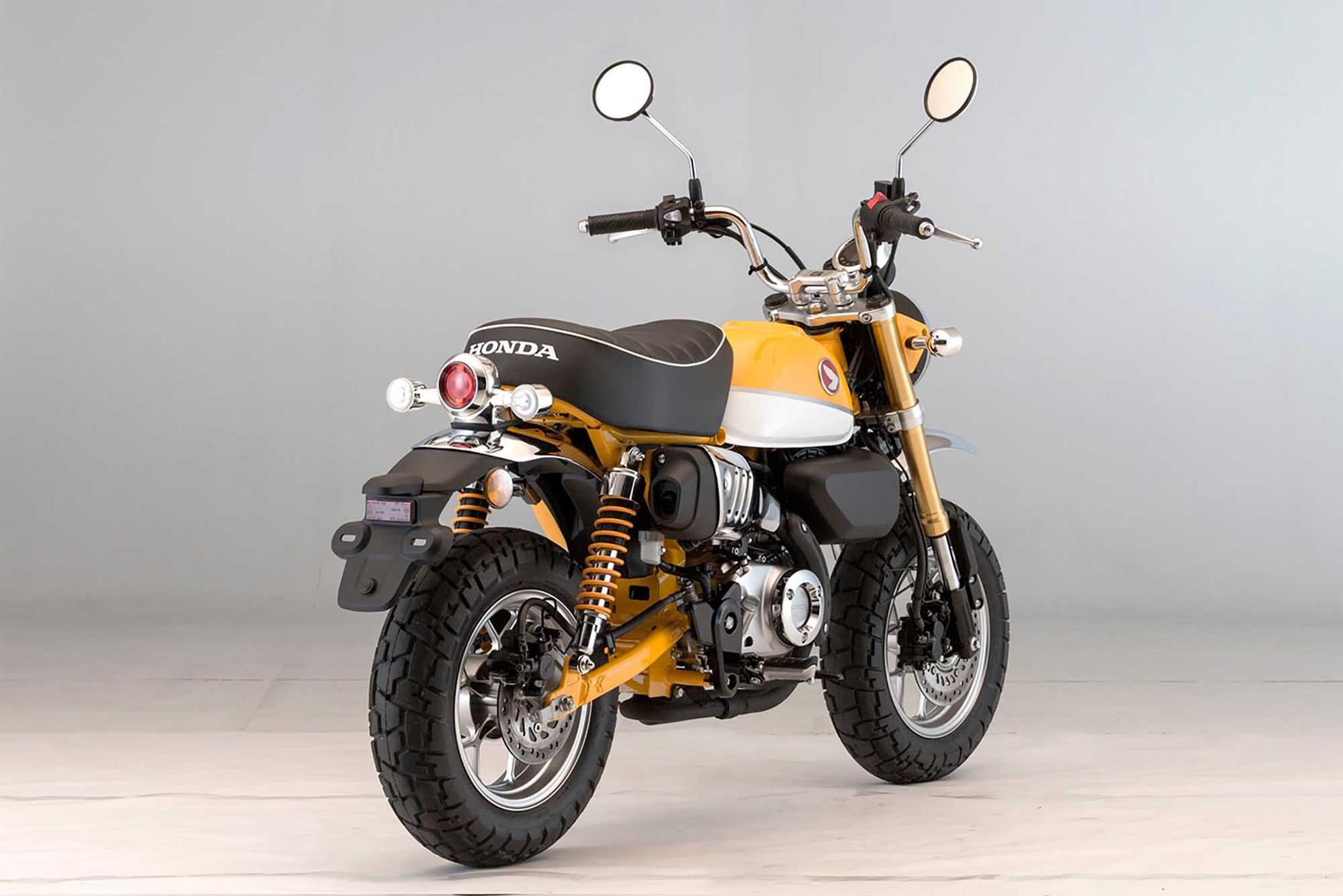 honda monkey bike in dealers by the end of july. Black Bedroom Furniture Sets. Home Design Ideas