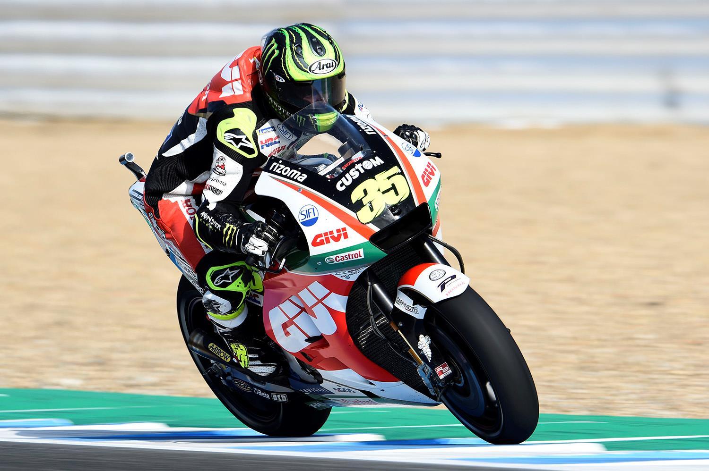 Cal Crutchlow sets fastest ever lap of Jerez to take pole