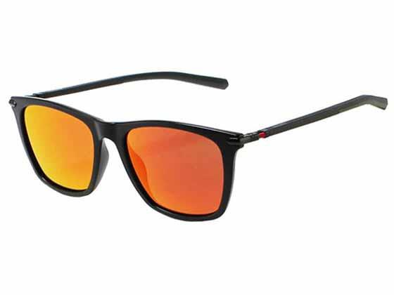 Ducati sunglasses with red fusion mirrored lens