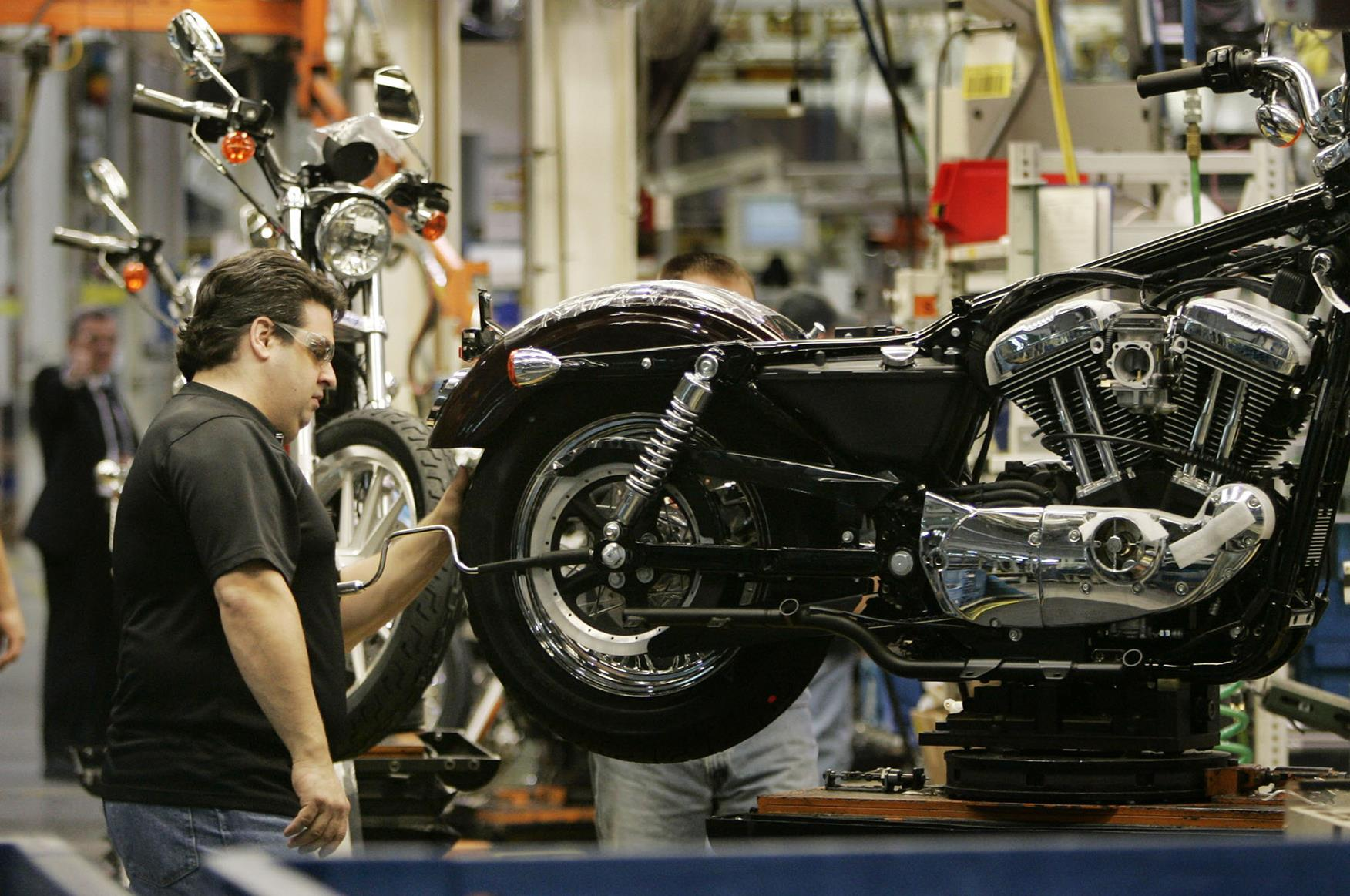 Harley-Davidson to focus on worldwide  production due to European Union  tariffs