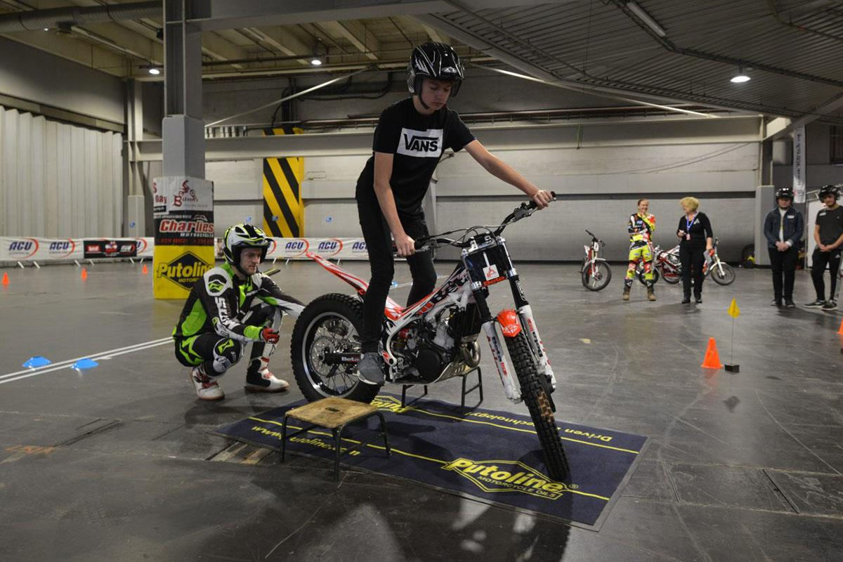 Try out Trials riding