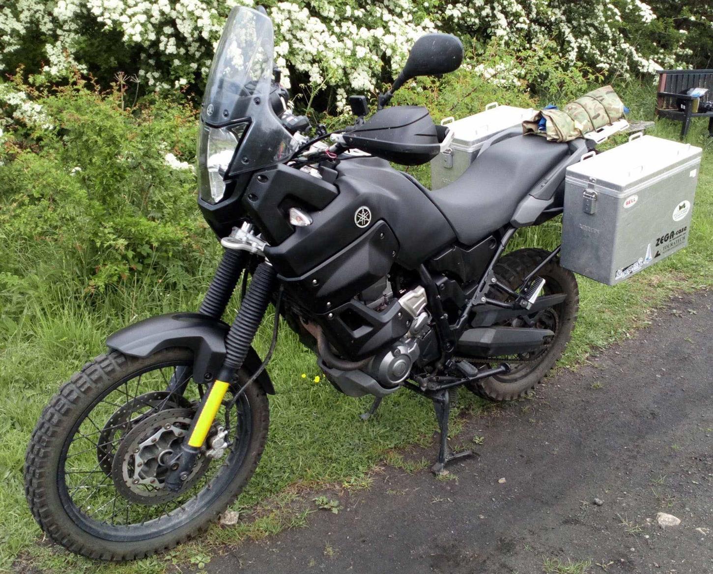 The Yamaha XTZ660 Tenere