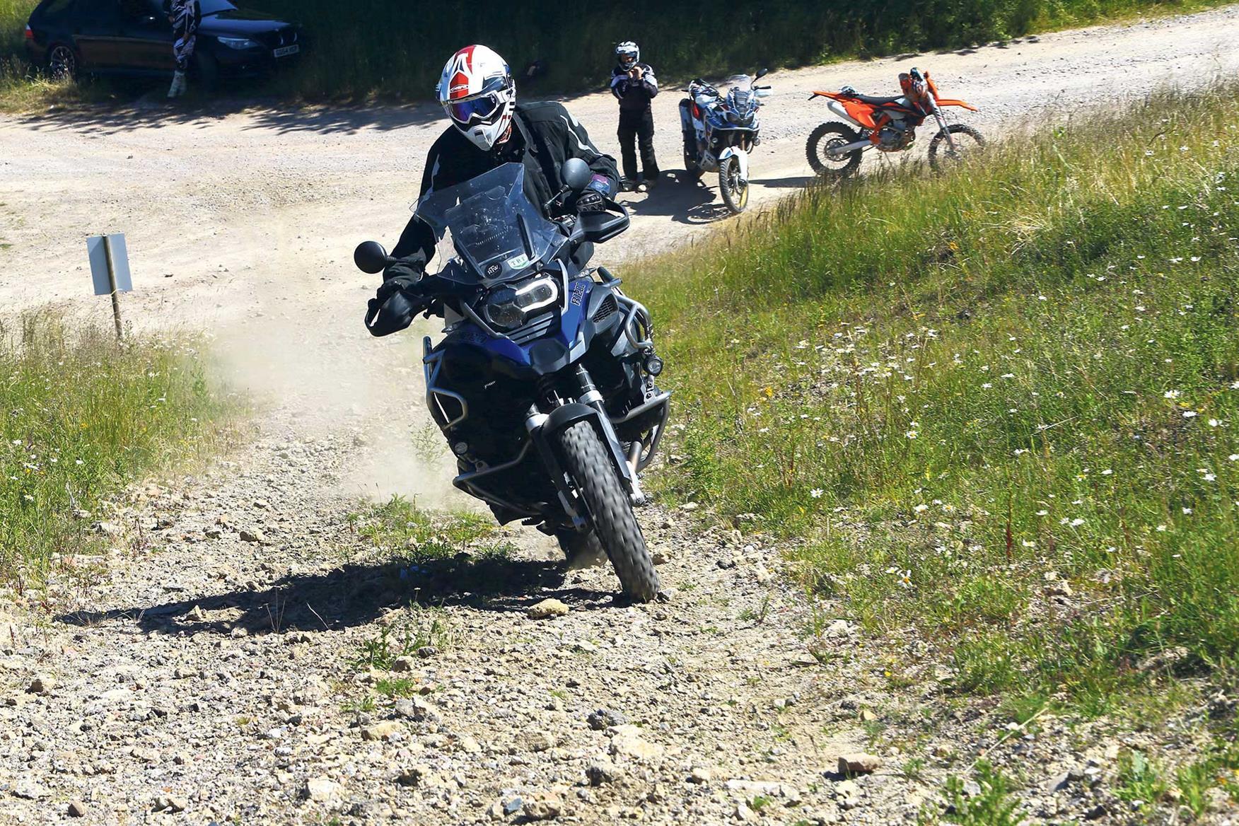 Climbing is an essential off road motorbiking skill