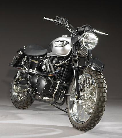 One of the Triumph Scramblers used in MI:3