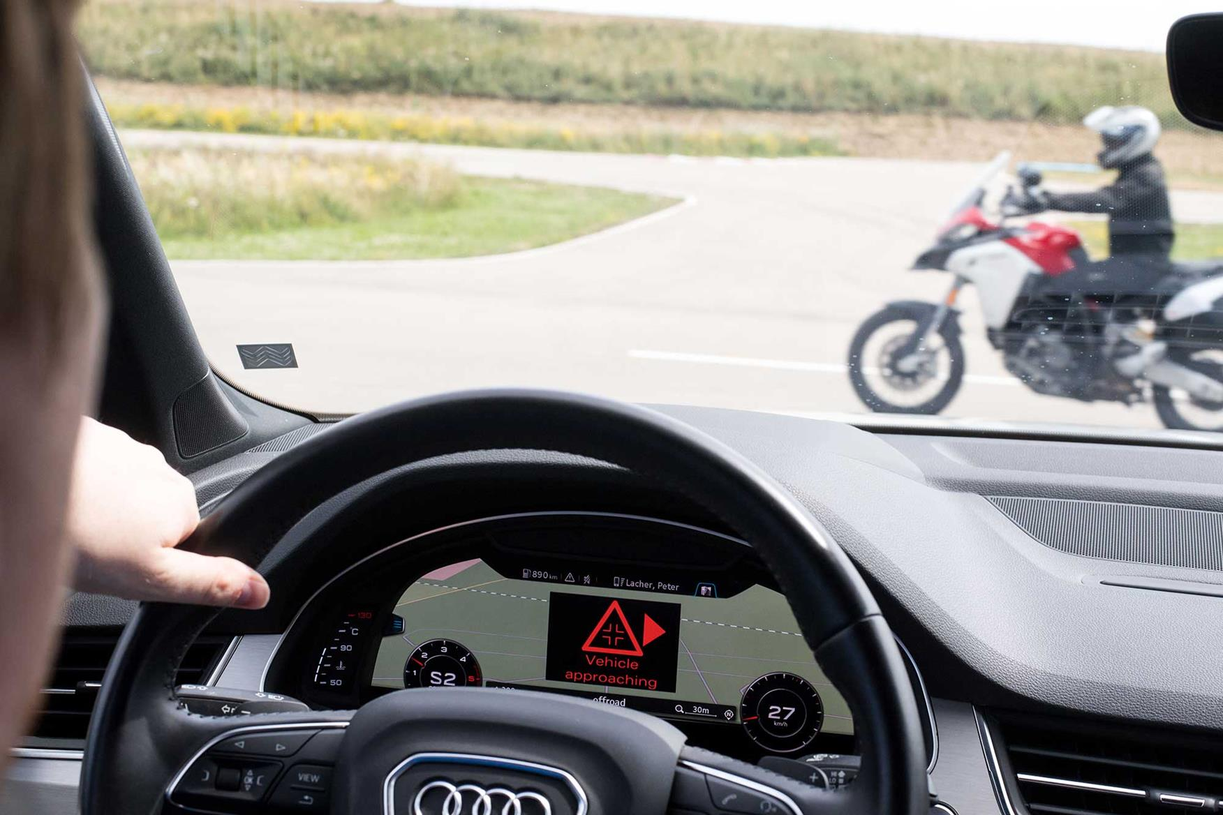 Ducati's anti-crash tech could end those 'sorry mate' accidents