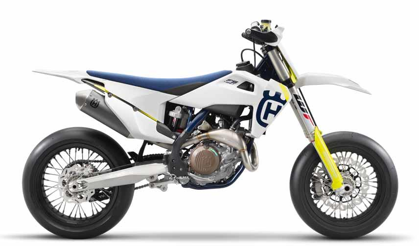 Husqvarna's revised new for 2019 F450 supermoto