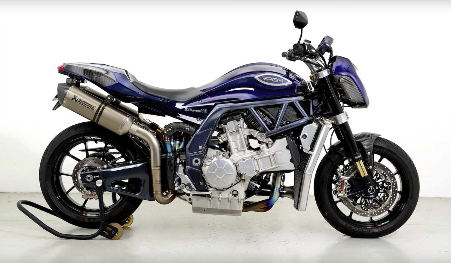 The PGM uses an engine made from two Yamaha R1 lumps