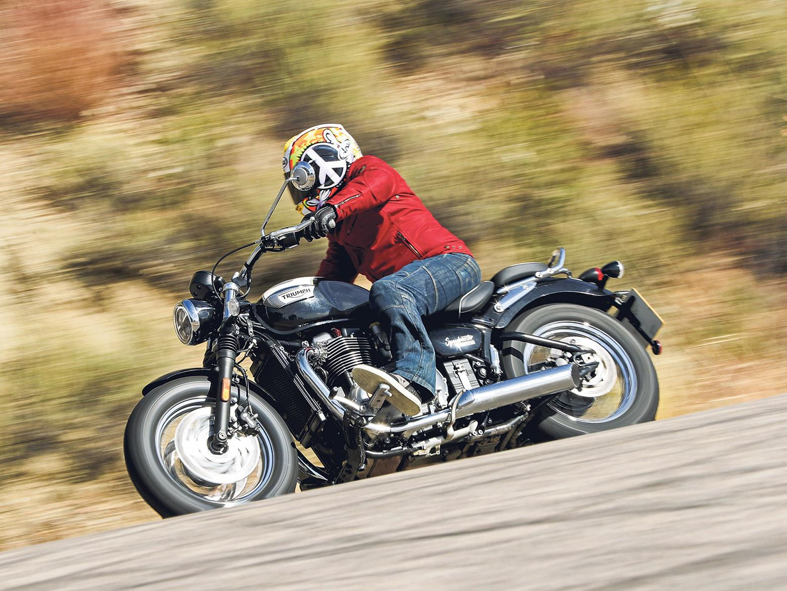 The latest Triumph Bonneville Speedmaster