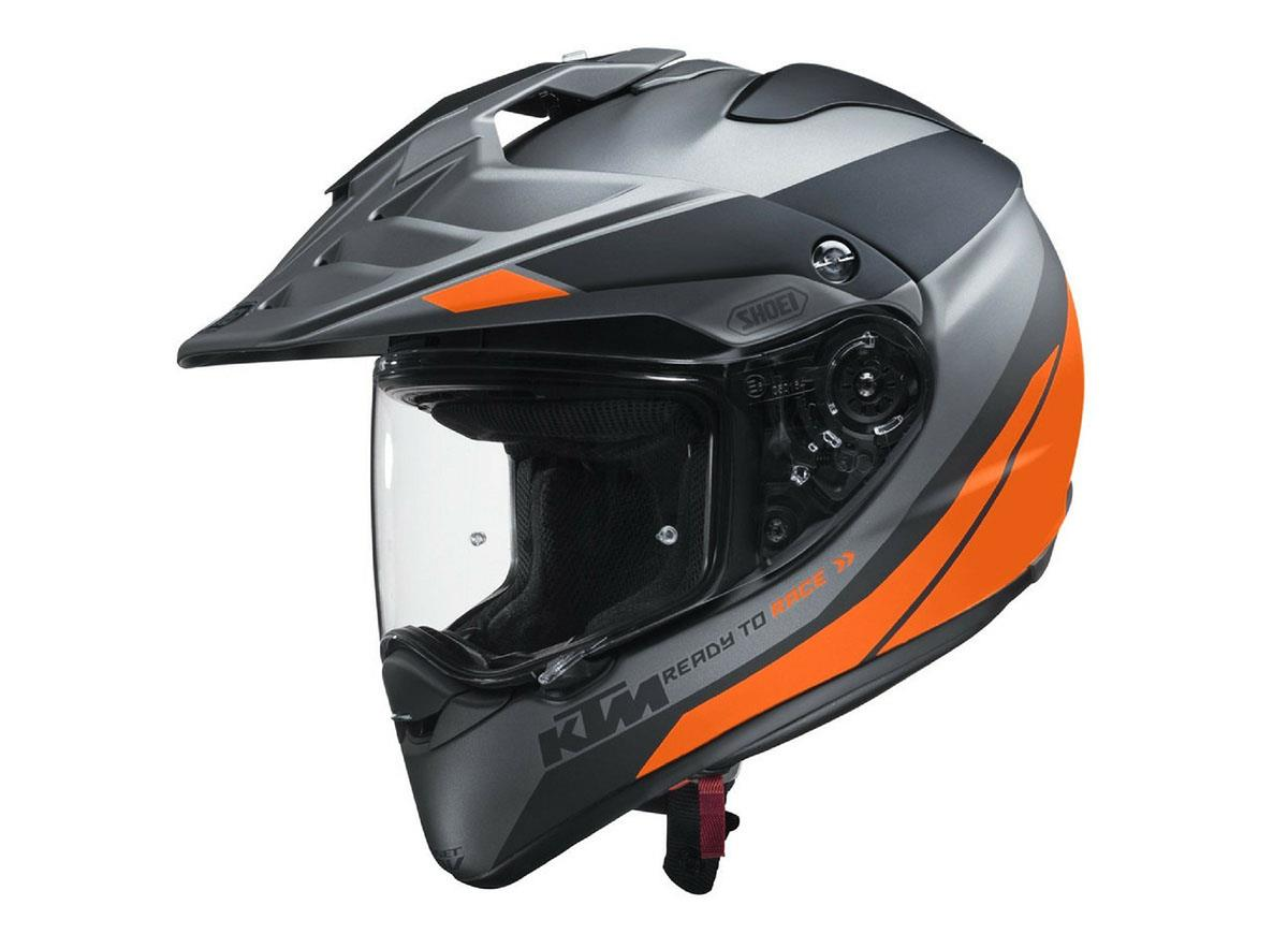 ktm team up with shoei to release two new helmets for 2018. Black Bedroom Furniture Sets. Home Design Ideas