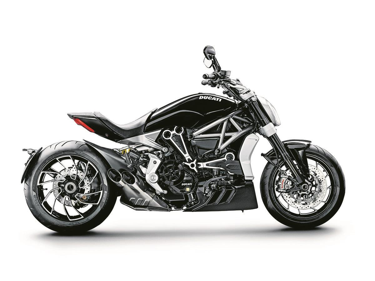 The new 1260 S will be more nimble than the XDiavel