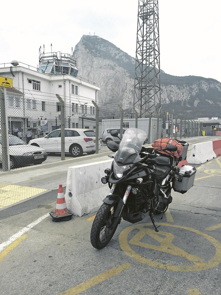 Around the world on a motorbike...