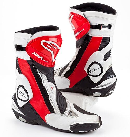 The 2016 Alpinestars SMX Plus Gore-Tex boots