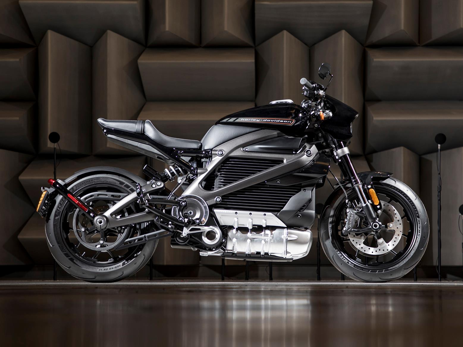 The Harley-Davidson LiveWire production bike