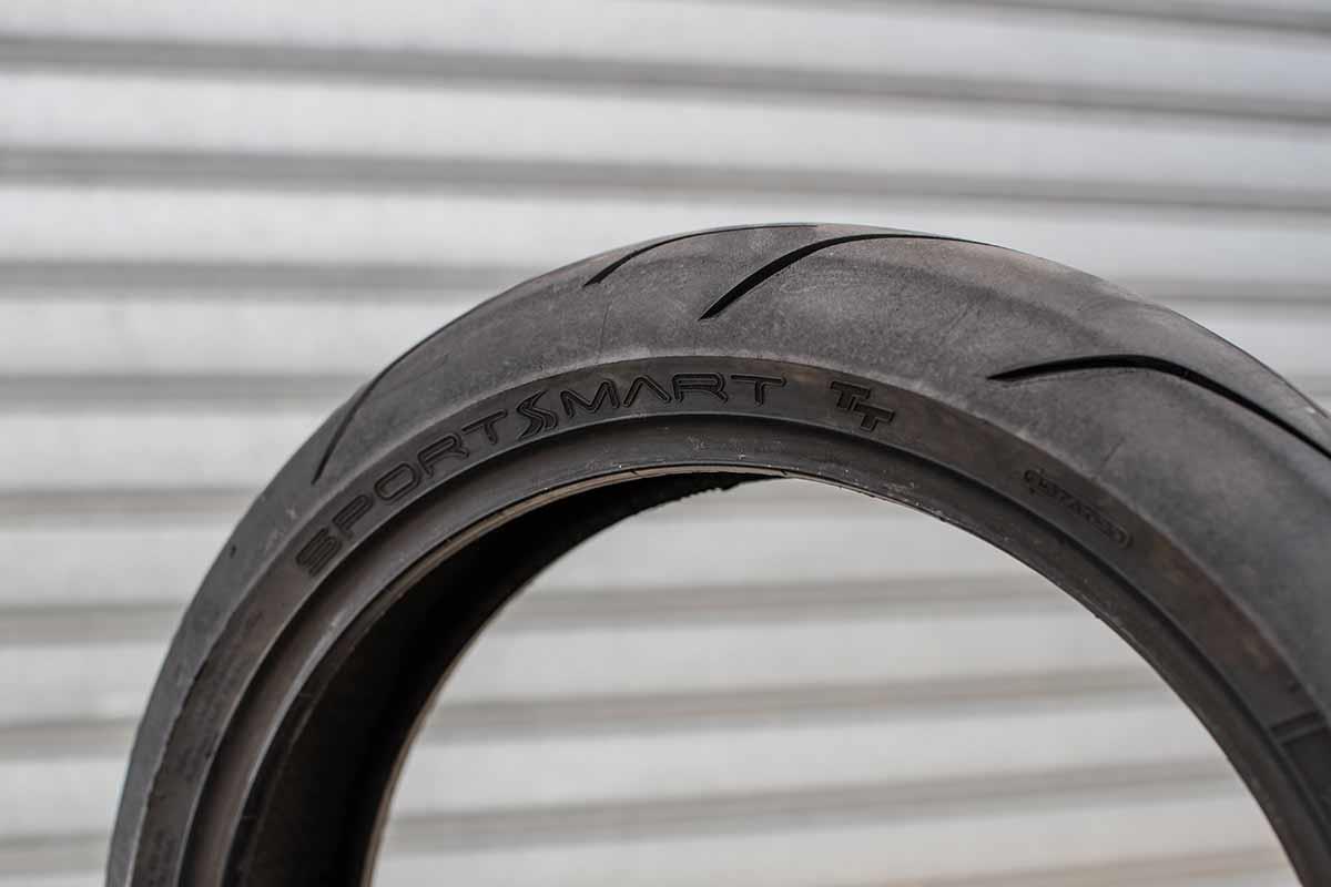 The fast road/track tyre: Dunlop Sportsmart TT