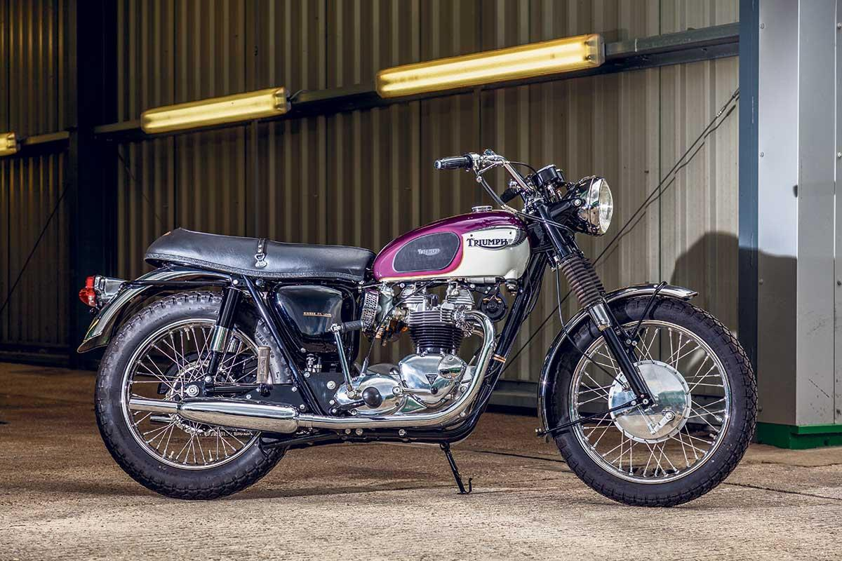 A very original 1967 Triumph Bonneville T120R