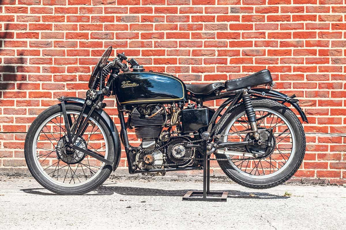 This Velocette is estimated to fetch £40k-£50k