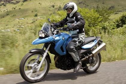 The BMW F650GS