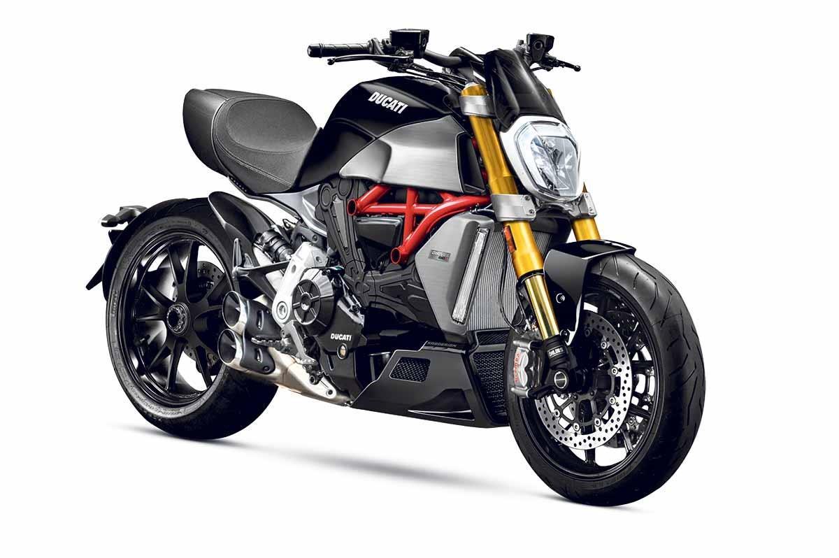 Ducati's 2019 Diavel prototype