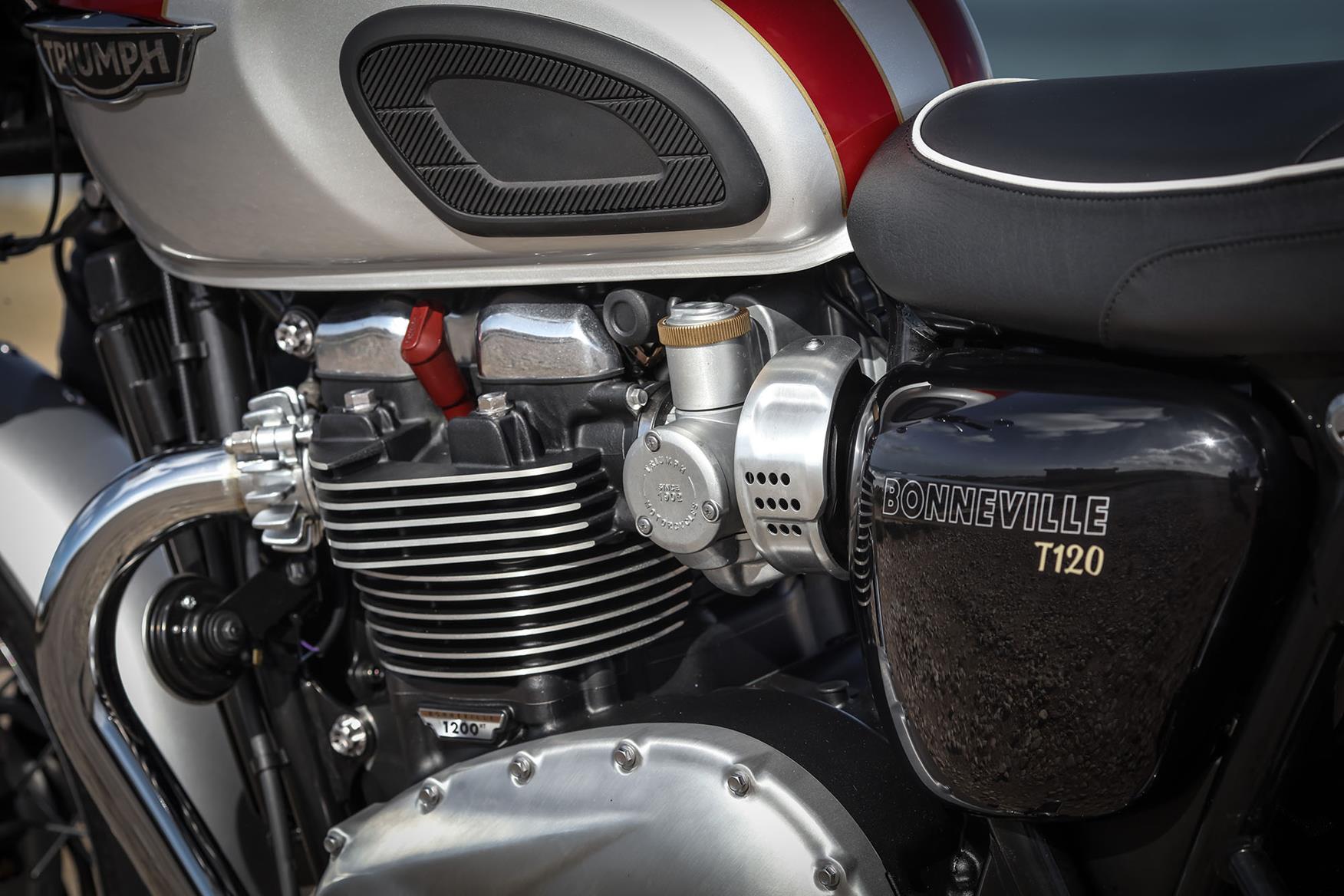 Triumph Bonneville T120 engine