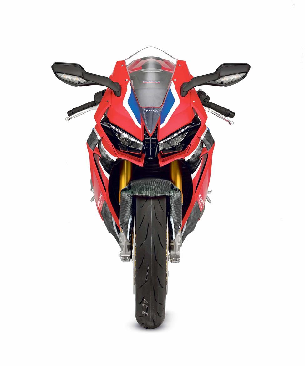 Honda Fireblade front end