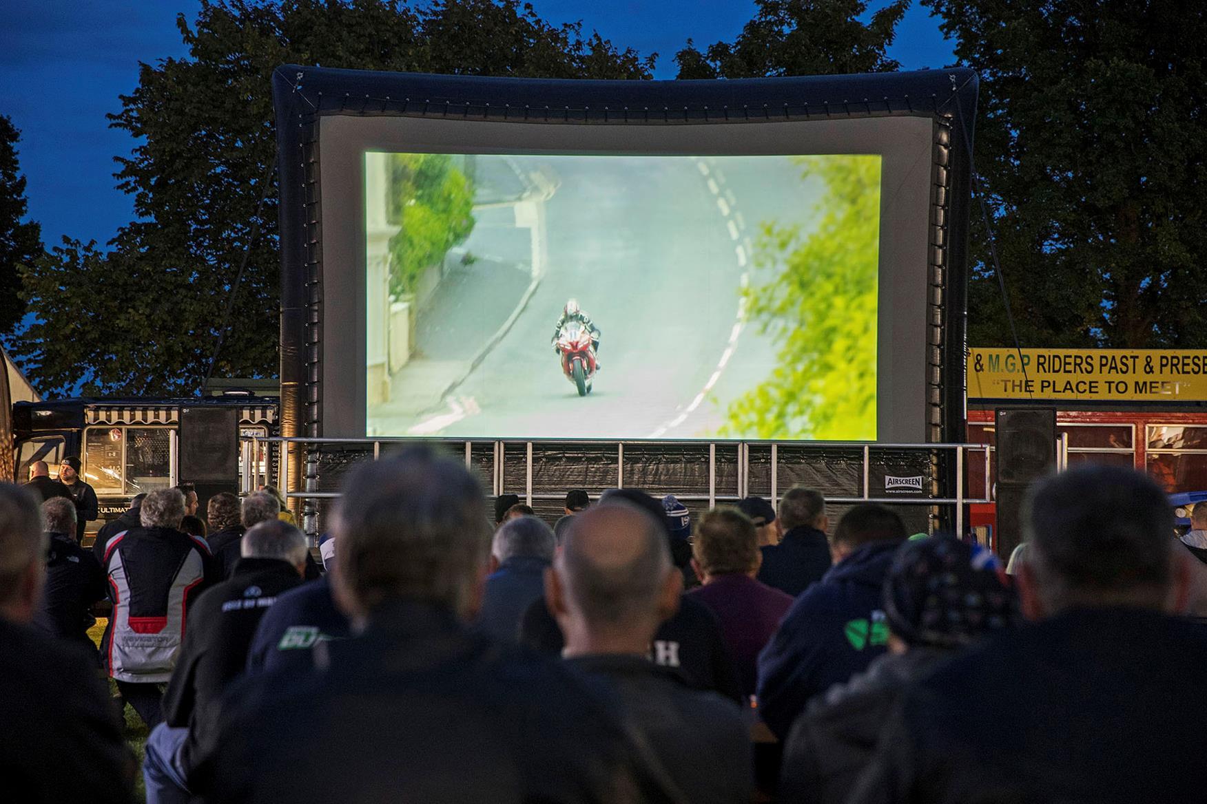 The Sundown Cinema at the Classic TT