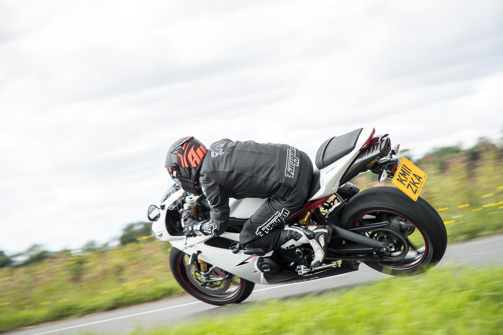 The Triumph Daytona 675R can be hard work in town