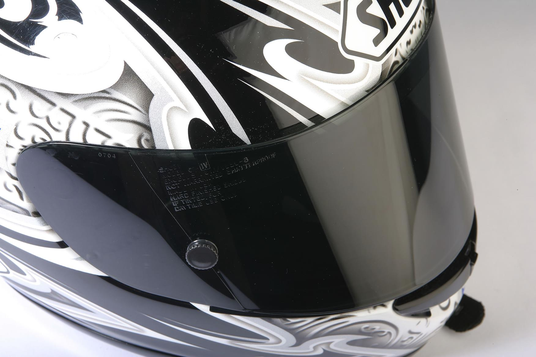 Whether your visor is 'tinted' or 'dark' makes all the difference legally
