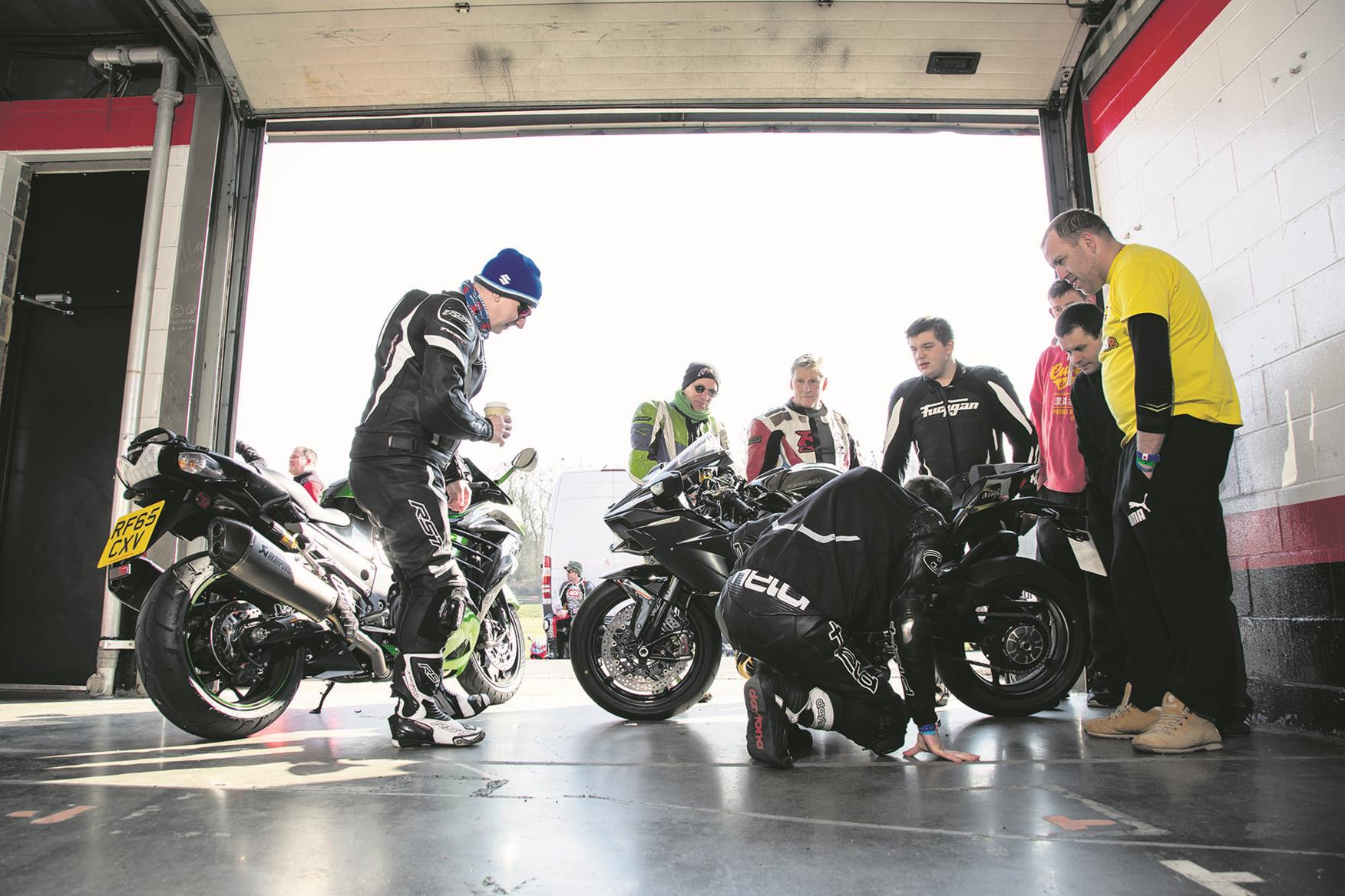 There'll be plenty of advice being thrown around at a trackday, not all good