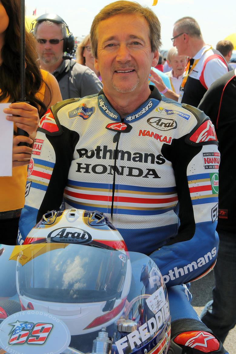 The legendary Freddie Spencer