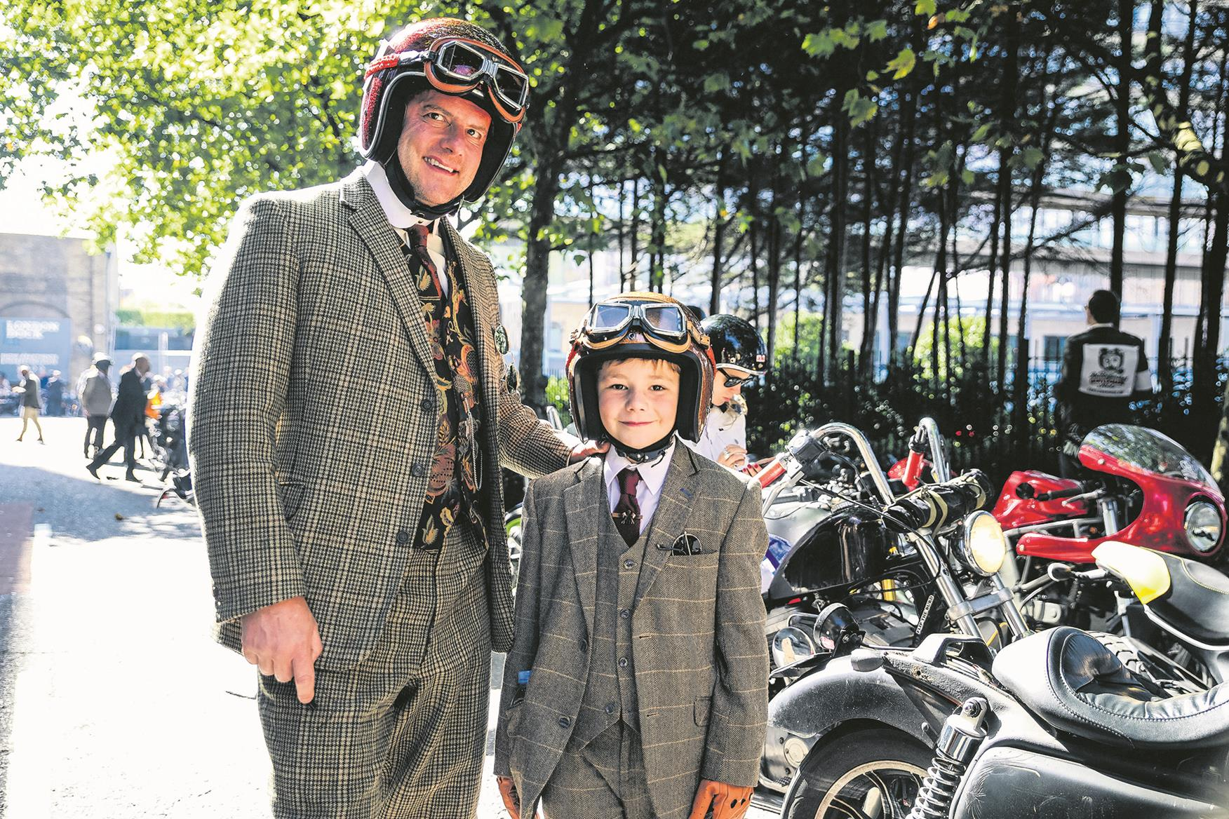 Tweed jackets are not compulsory at the Distinguished Gentleman's Ride