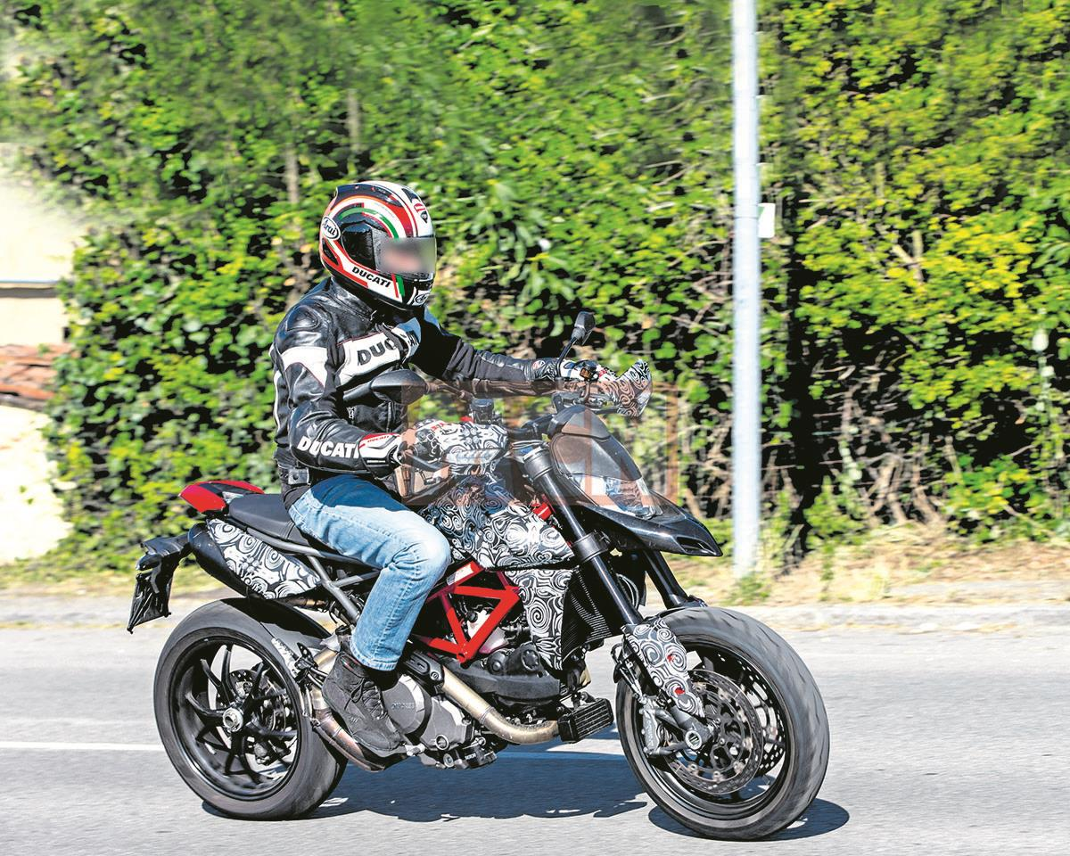 New Hyper 2019 Spied Ducati Hyperstrada Forum