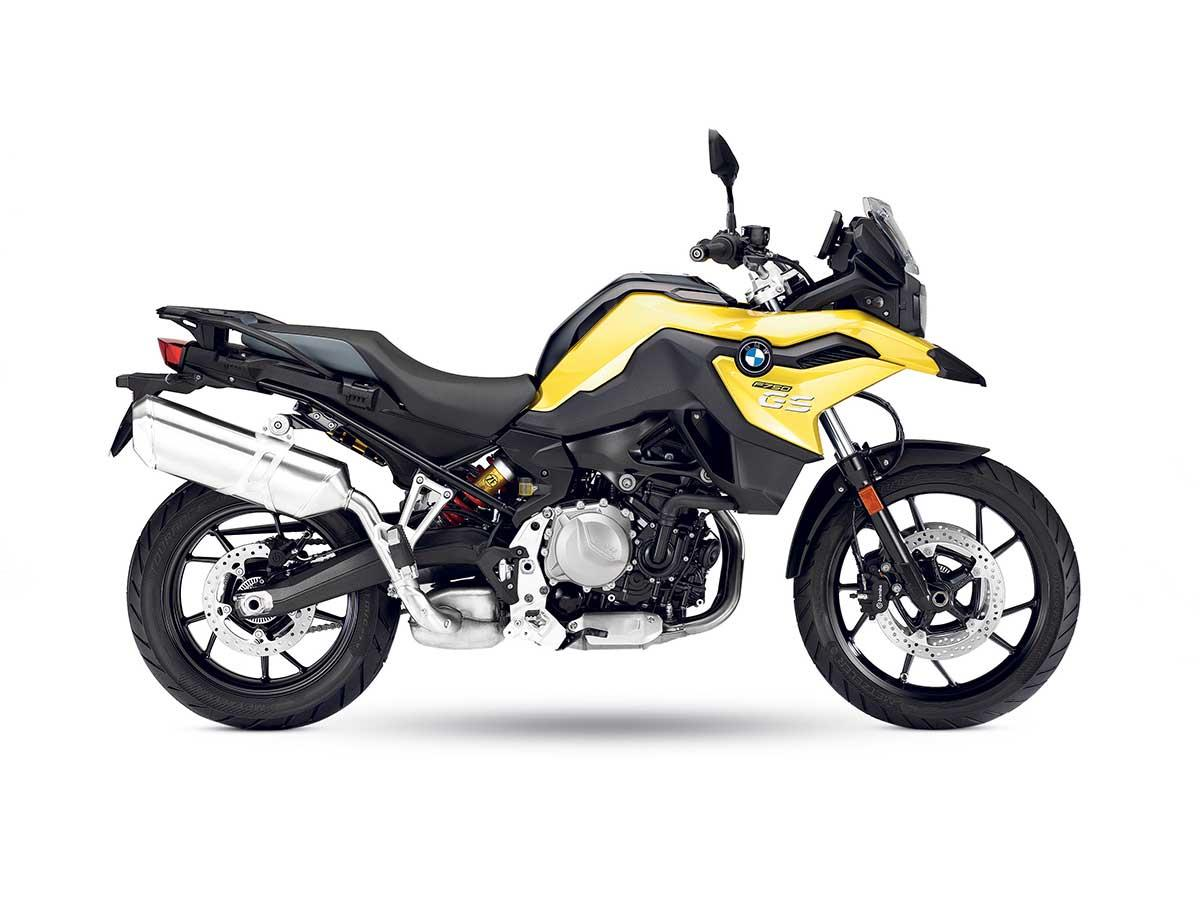 The 2018 BMW F750GS model