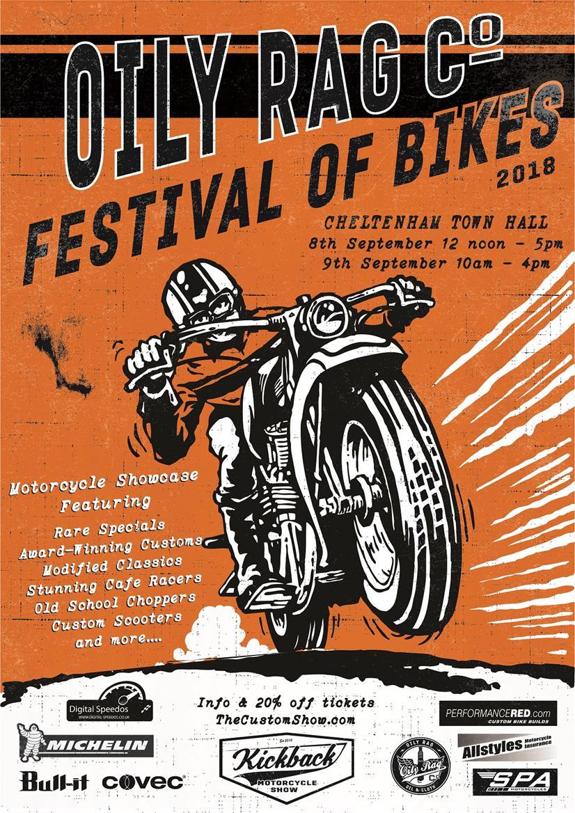 Cheltenham bike fest logo