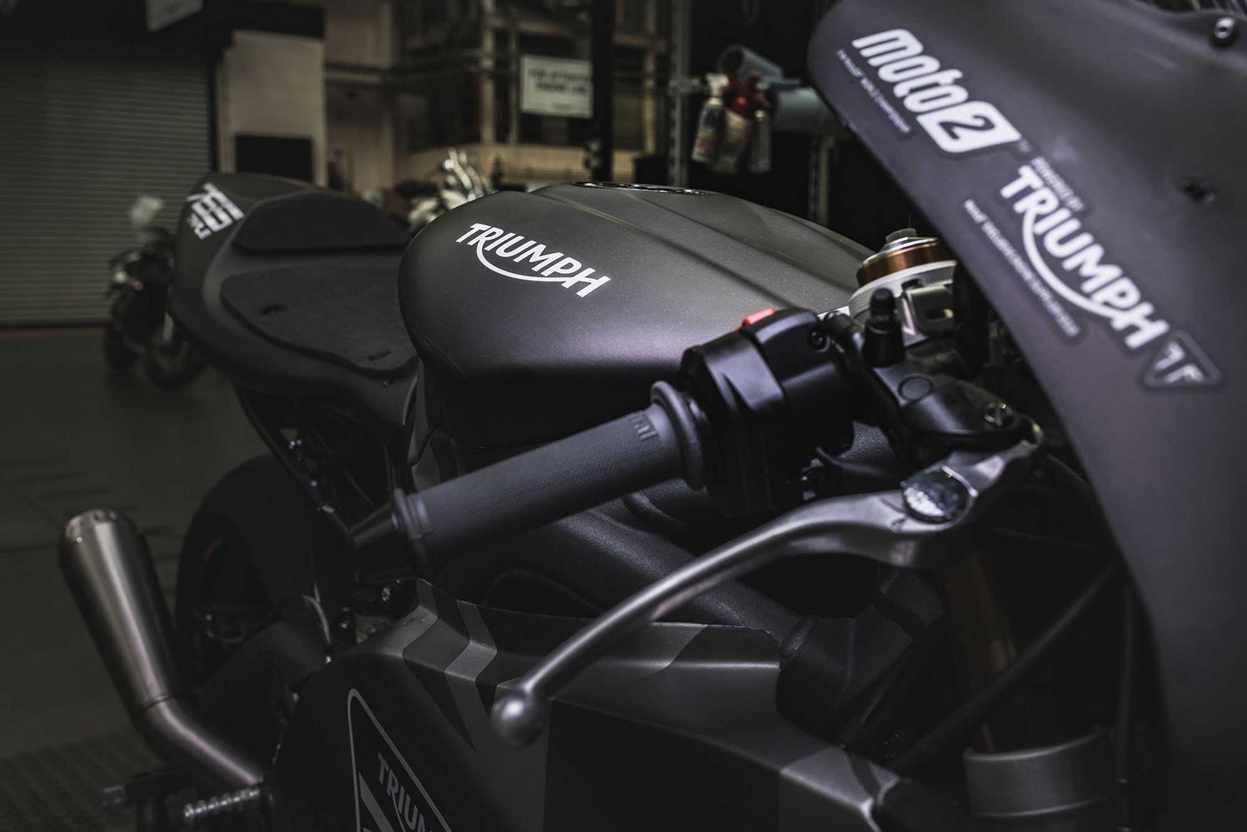 The Moto2 bikes will have a Marelli ECU