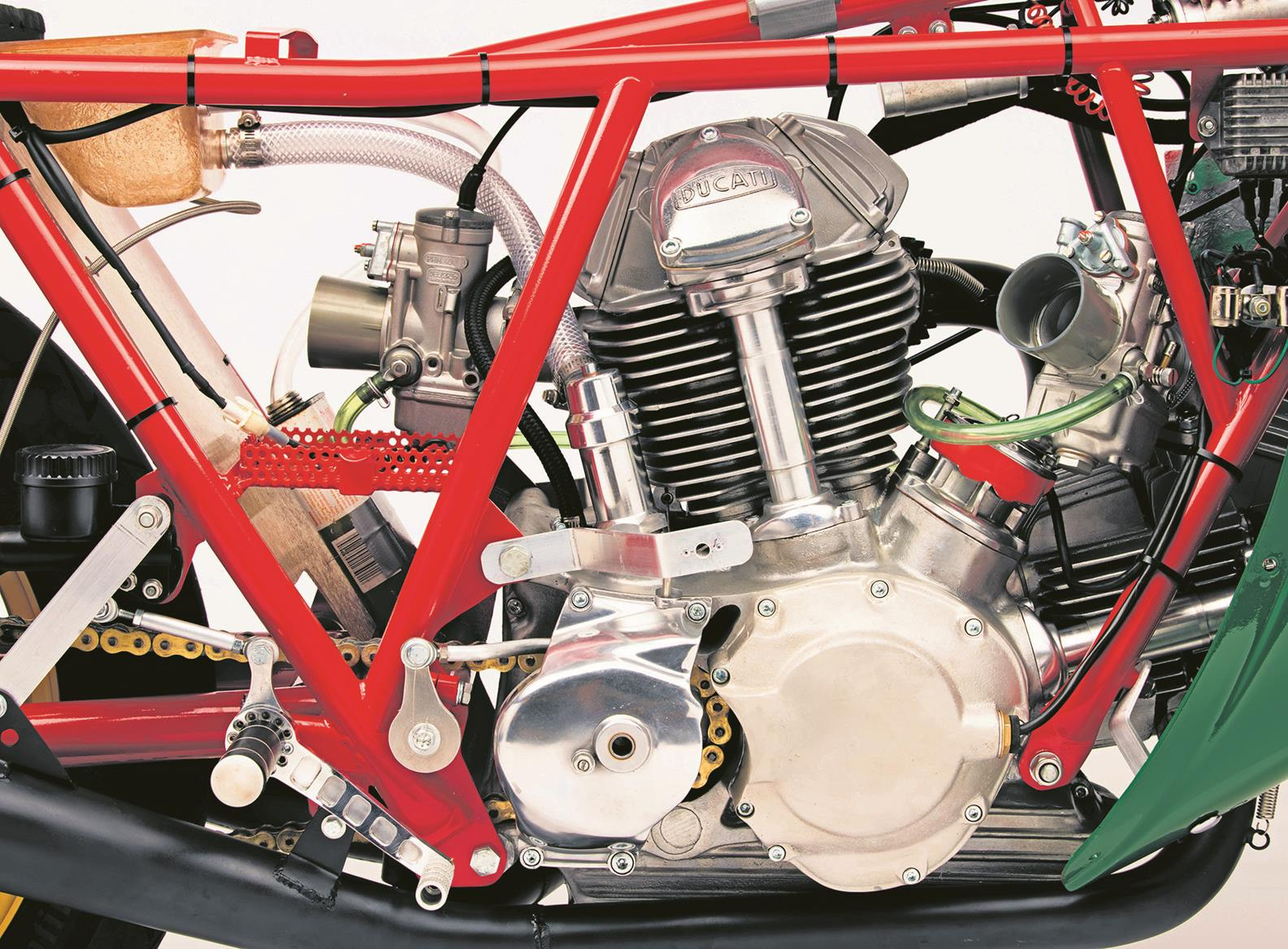 The bike's internals have been updated and strengthened
