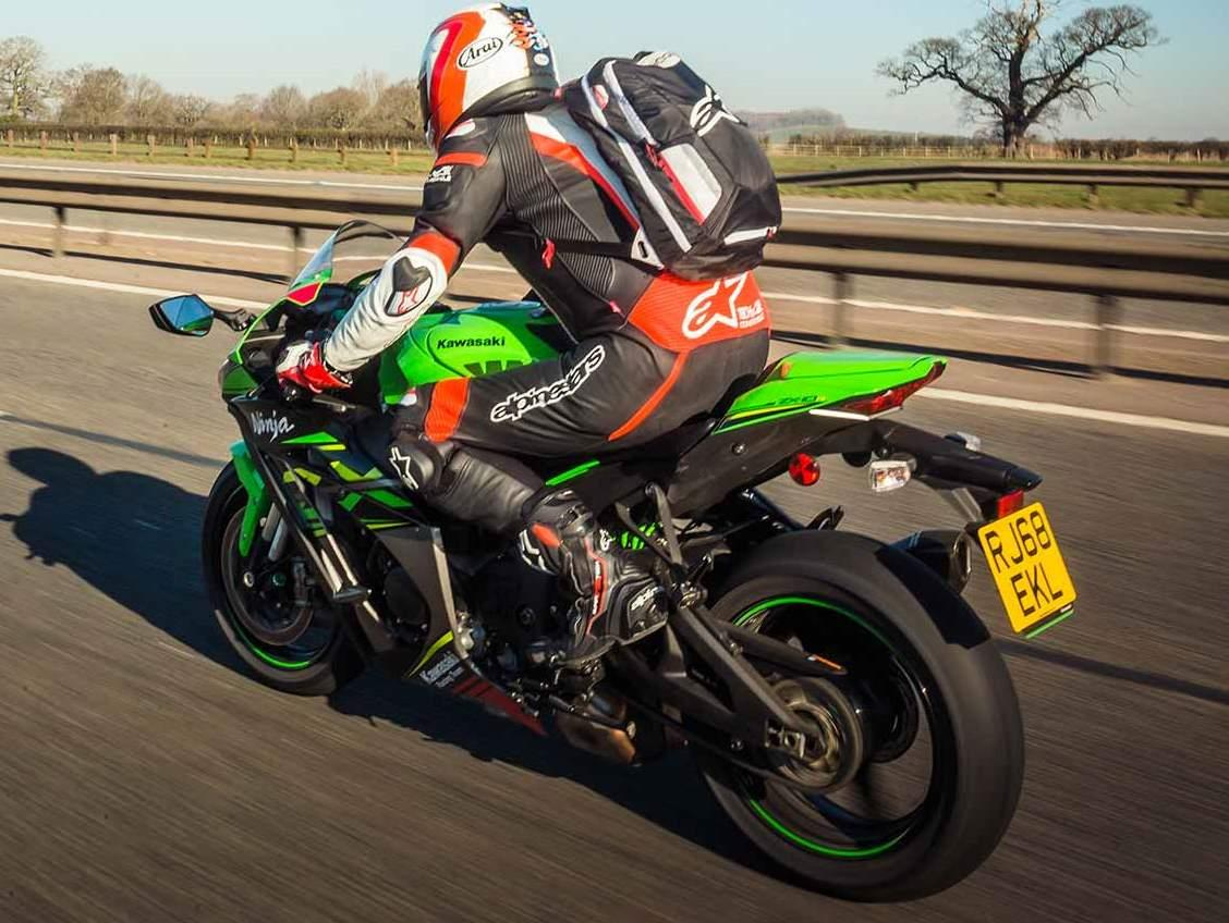 On the road on the Kawasaki ZX-10R