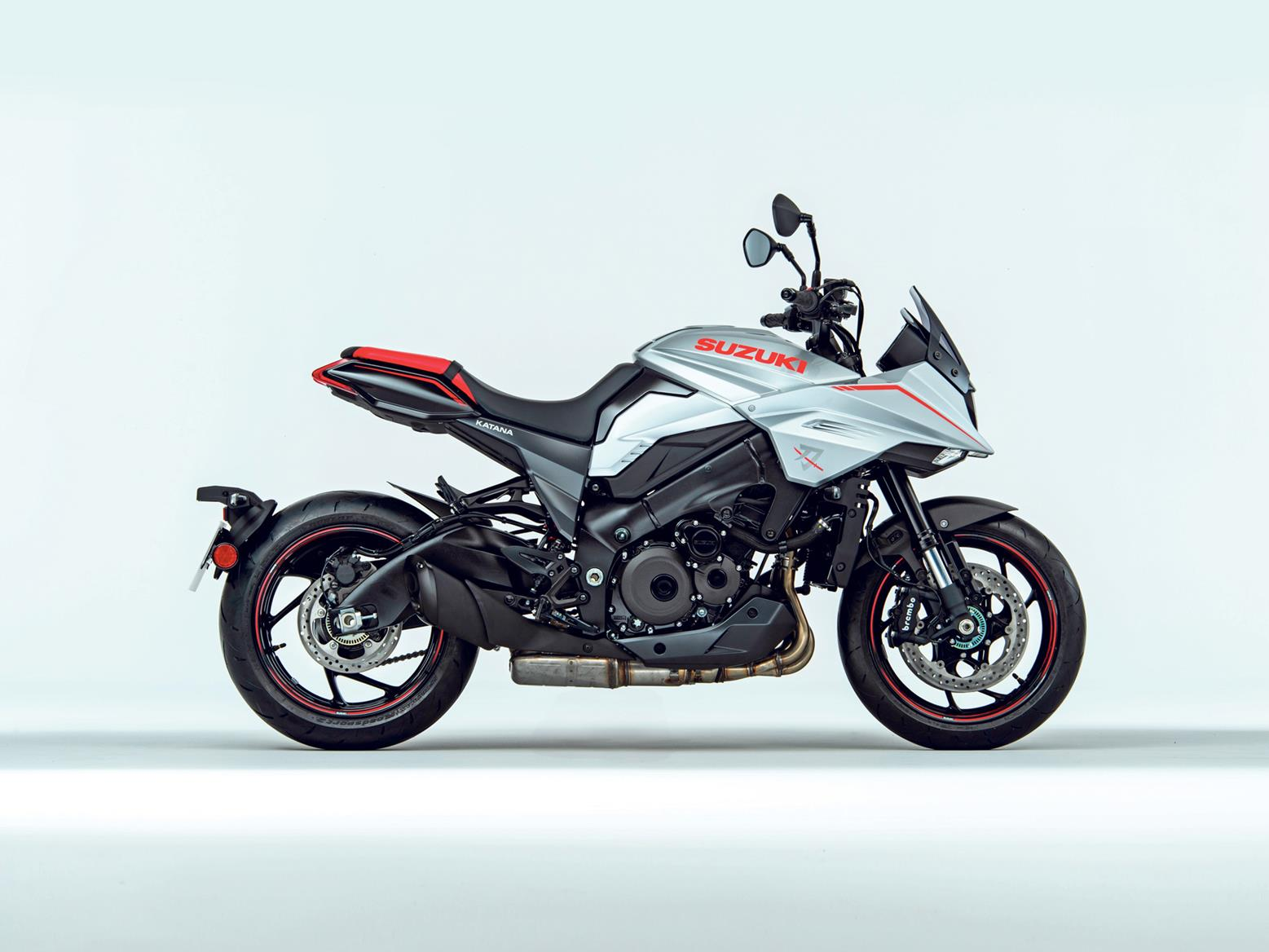 Suzuki Katana 2019 side profile