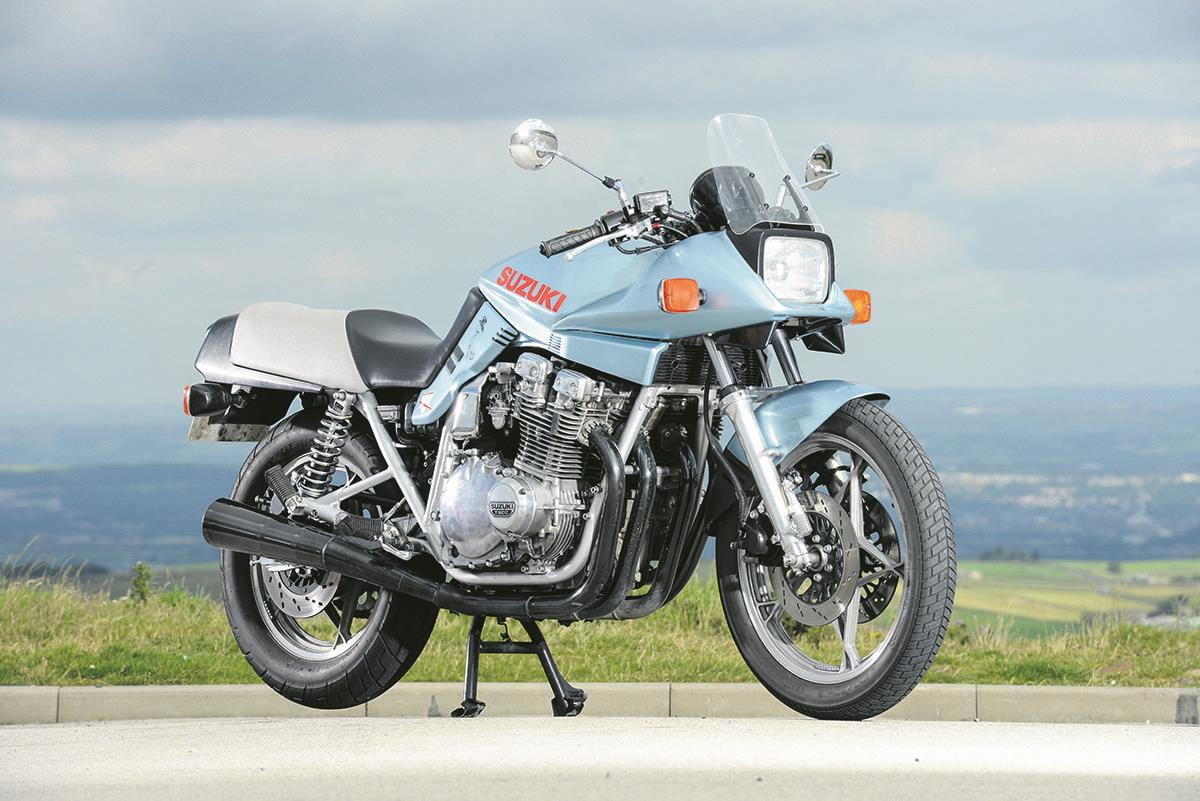 Suzuki's original Katana launched in 1981