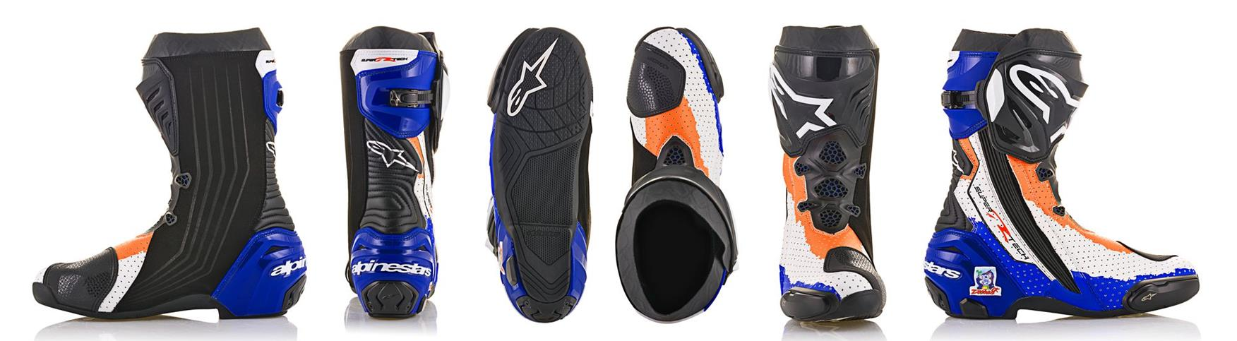 Mick Doohan race replica boots