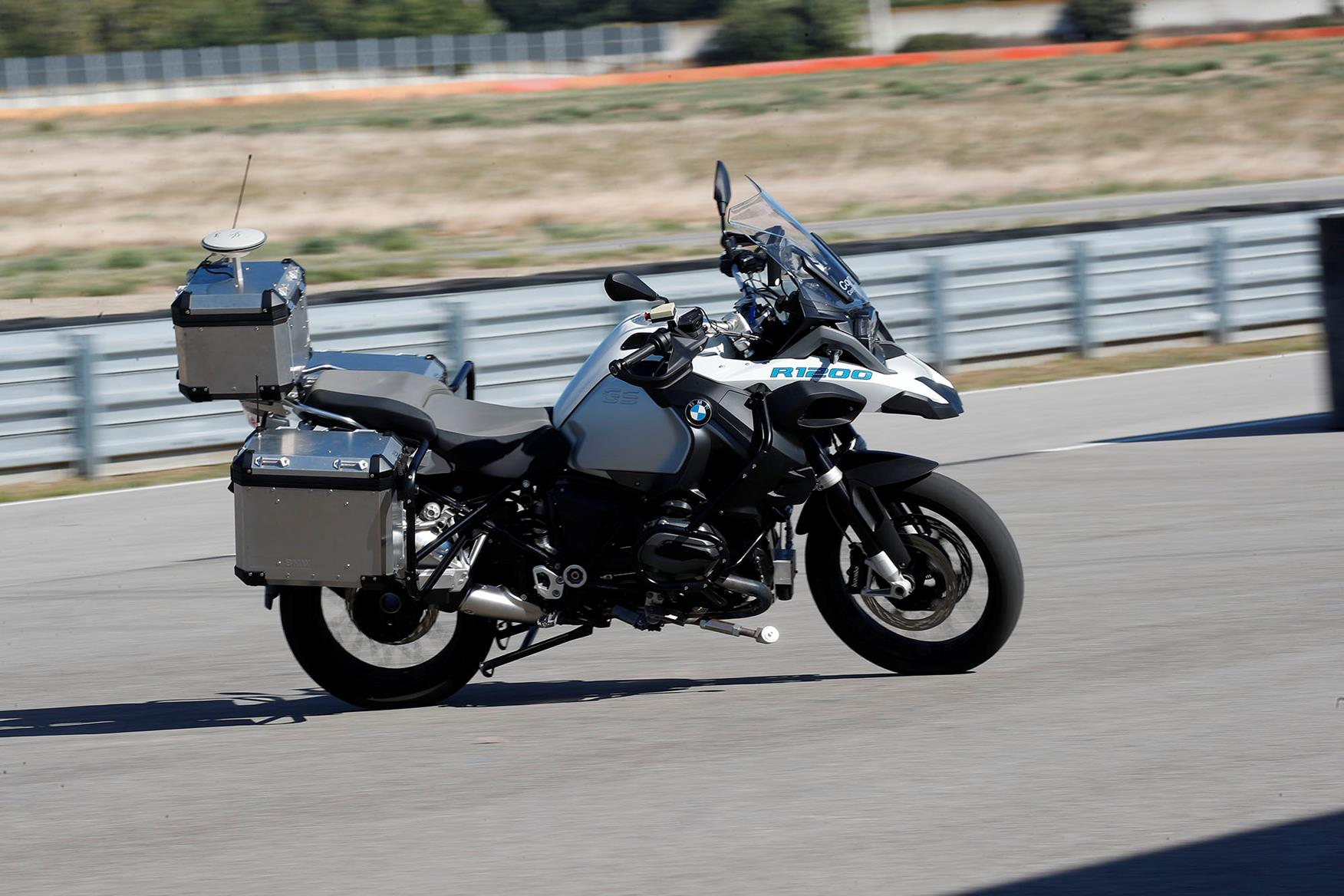 The bike is a step in the journey towards safer motorbikes