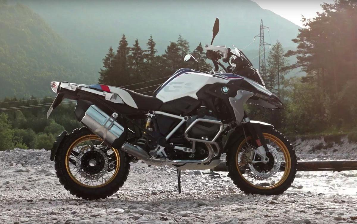 2019 BMW R1250GS was revealed in a leaked online video