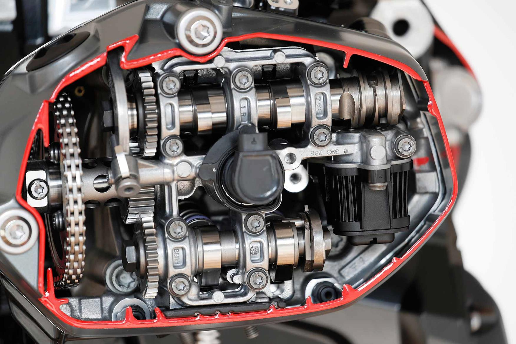 The BMW R1250GS engine in all its glory